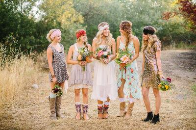 Acessórios Boho Chic para casamento!