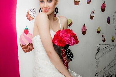 Ciekawa stylizacja ślubna: Pin-up girl!
