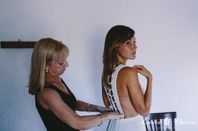 Si tu hija se casa, ¡no caigas en estos 5 errores! Consejos para ser la madre de la novia perfecta
