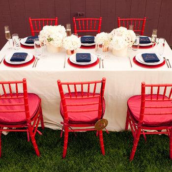 Em tons de vermelho: o amor, o casamento e a noiva!