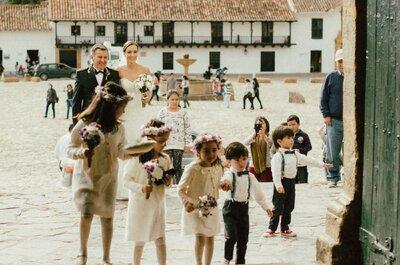 Villa de Leyva vintage: La elección de Sandra y Manuel