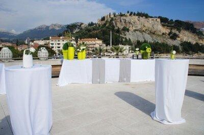 Alternative au dîner de mariage classique : le cocktail dînatoire