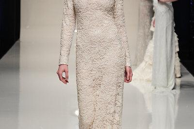 30 abiti da sposa in pizzo visti alla White Gallery 2014