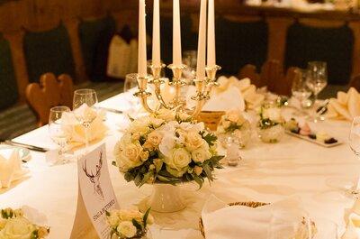 Inspirations pour votre décoration de mariage: misez sur les bougies.