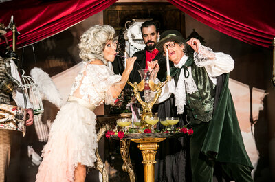 O Hendrick's Unusual Wedding de Lady Rose & Sir Pepino: espreite como foi o casamento mais inusitado do ano!