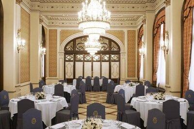 ¿Cómo es una boda en el hotel Alfonso XIII? El salón Aires de Boda nos lo enseña