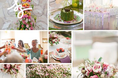 Tu boda al estilo desayuno o brunch chic: Descubre con estas ideas cómo lograr la mejor atmósfera