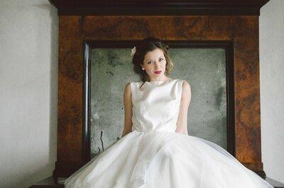 Ispirazione fifties per la sposa, è vintage mania!