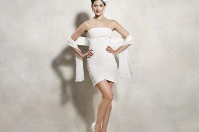 Sommerhochzeit! Die aktuellen Trends - Kurze Brautkleider