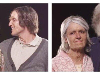 Un couple vieillit de 100 ans en quelques minutes... Découvrez le résultat stupéfiant !