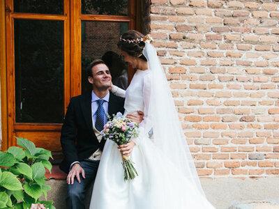 Amor desde el instituto: la boda de Cristina y Rodrigo