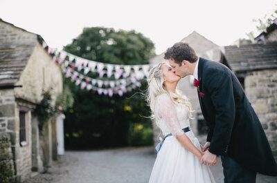 Real Wedding: Un festival de amor lleno de color ¡y muchos detalles!