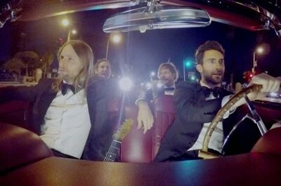 What happens when Maroon 5 crash your wedding to film their new video?