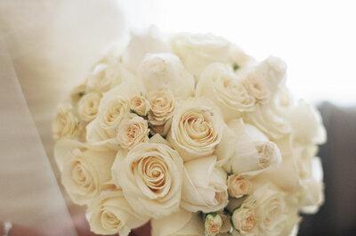 Os 50 buquês de noiva com rosas mais lindos da temporada: classe, elegância e estilo!