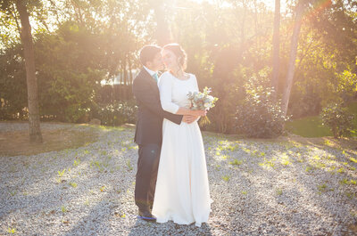 Mi boda romántica-viajera: el gran día de Elia y Joan