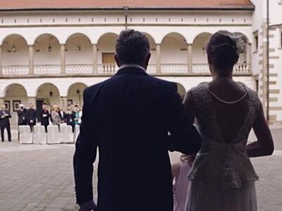 Cudowne wideo ślubne z wesela w Zamku w Niepołomicach!