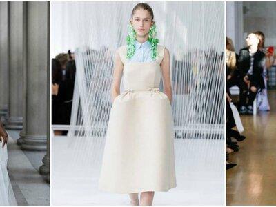 De mooiste bruidskleding voor 2017, inspiratie vanuit New York Fashion Week!