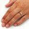 Dezente Ringe mit 0,250 kt. Edelsteinen.
