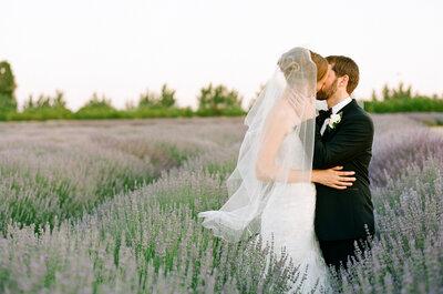 Real Wedding: Un carnaval de amor en una granja con colores vibrantes... ¡La más original!