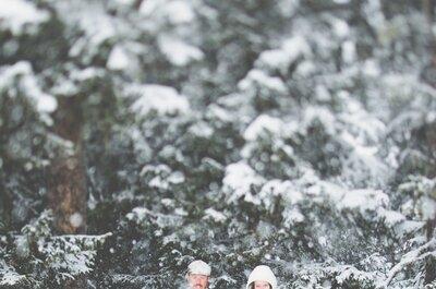 Die schönsten Brautkleider für eine Hochzeit im Winter 2014