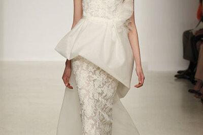 Vestidos de novia Amsale, colección Primavera / Verano 2013