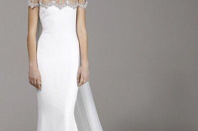 10 najpiękniejszych sukien ślubnych na 2013 rok - wybór Zankyou!