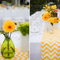 Montaje de boda en colores cítricos - Foto La Vida Creations