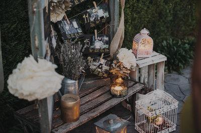 ¿Te casas en otoño?: mira los consejos de los expertos en decoración