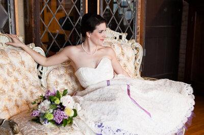 Enaguas para novia: color, diseño y romanticismo