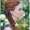 Trenzas, el peinado must para las novias con estilo - Foto Kate Ann Photography