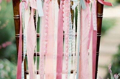 Украшение зала на свадьбу: 10 оригинальных идей для украшения стульев