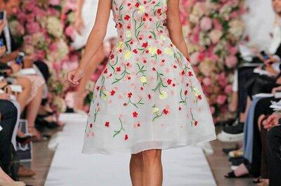 New York fashion week 2015: Oscar de la Renta e le sue donne eleganti e variopinte