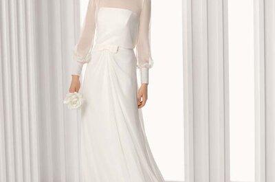 Vestidos de noiva com gola: estilo e sofisticação