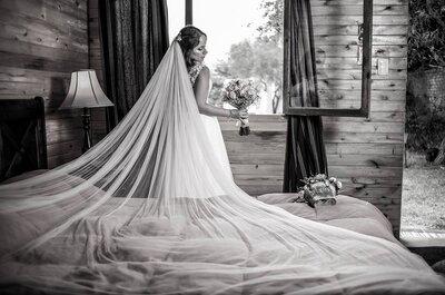 Ocho estilos de velos de novia vistos en Instagram