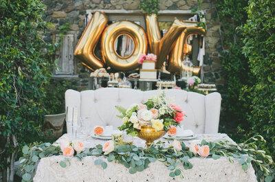 ¿Quieres decorar tu boda con globos? ¡Aquí tienes las mejores ideas!