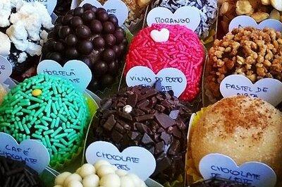 Brigadeiros no casamento: há boa vida para lá do chocolate