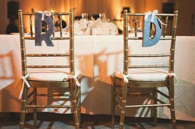 Decoratie bruiloft: versier de stoelen!