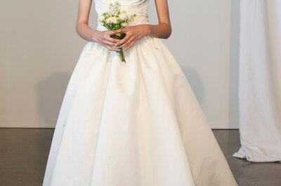 Veja a selecção de vestidos de noiva da Marchesa 2015 - New York Bridal Week