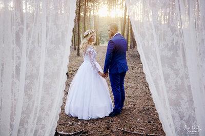 Rustykalna sesja ślubna jest trendem nowego sezonu!