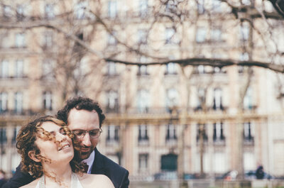 Florian + Sarah: A Traditional Jewish Wedding Ceremony Set in a Cinema in Paris