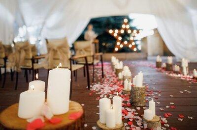 Свечи на свадьбе: элемент декора, который осветит вашу любовь!