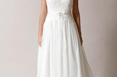 Kolekcja sukien ślubnych z kokardką od Rity Vinieris (Alyne)