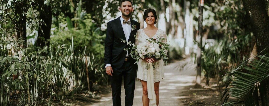 Bajo nuestras propias reglas: La boda de Citlali y Oscar