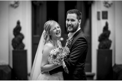 Real Wedding: Kat and Ste's Fun Filled Wedding Day