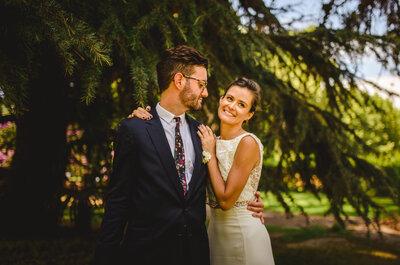 El enlace de Natalia y Axel, un amor que creció a pesar de la distancia