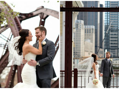 Steel and Lace: Tara + Sean´s Wedding in Chicago