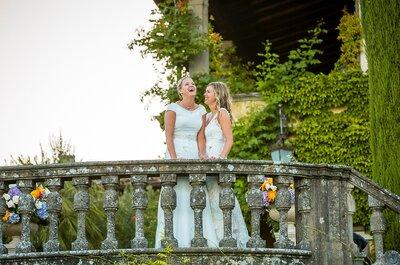 Kately e Lynne: un sogno d'amore nell'incantevole campagna toscana