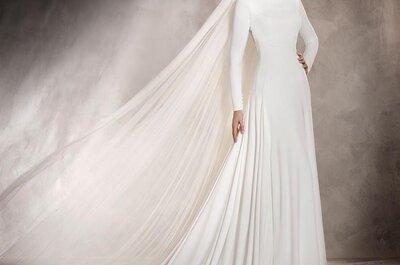 6 tipi di manica lunga per il tuo abito da sposa e il freddo non sarà più un problema