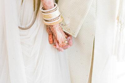 Inspírate en esta increíble y romántica boda hindú en la playa
