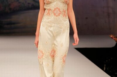 Claire Pettibone Fall 2012 Bridal Collection of Romantic, Vintage-Inspired Wedding Dresses